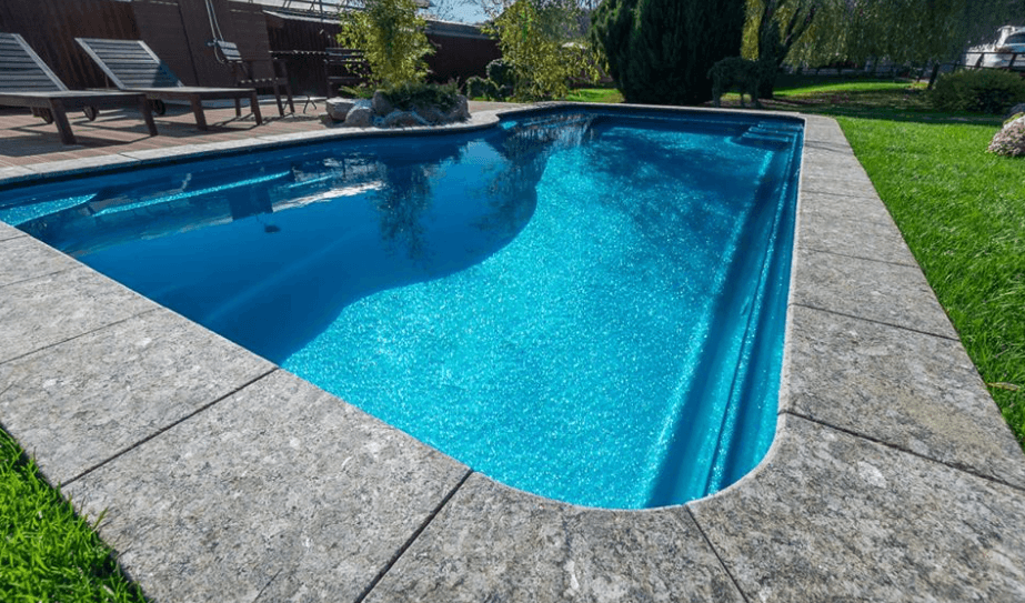 бордюр для бассейна
