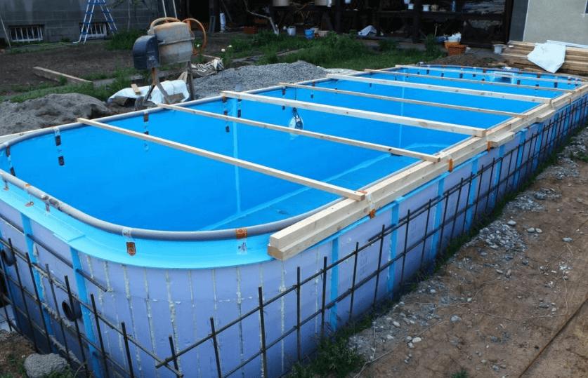армирование бассейна