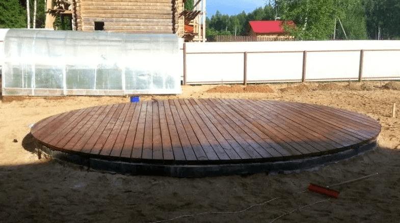 основа для бассейна