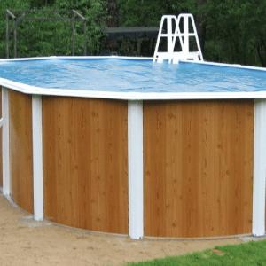 установка каркасного бассейна