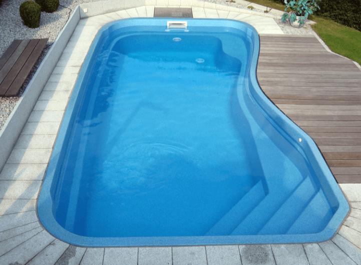 композитная чаша для бассейна