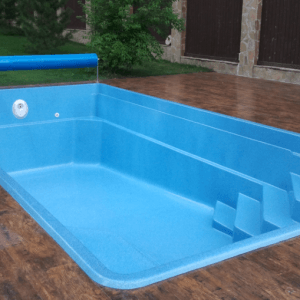установка композитного бассейна