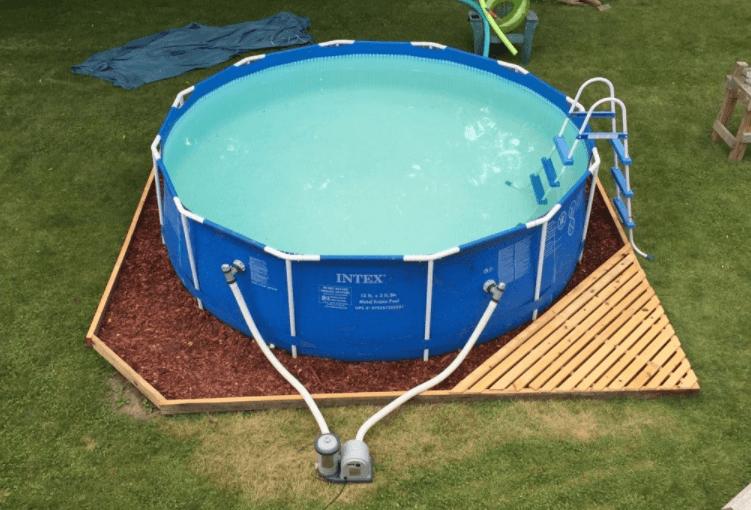 поддон для бассейна