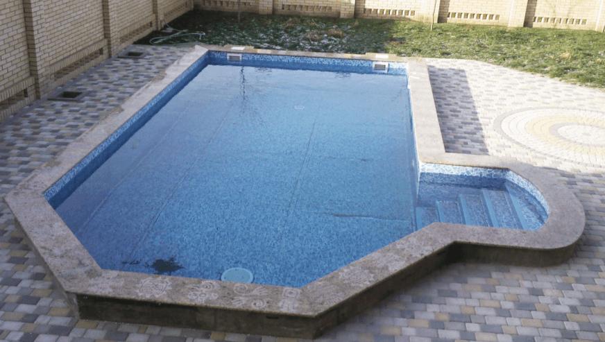 бортовой камень для бассейна купить