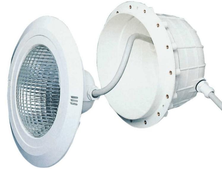 подводный прожектор для бассейна