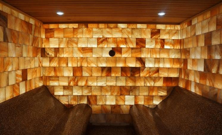 соляная стена на клеевой основе