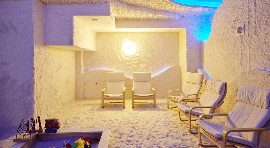 вентиляция в соляной комнате