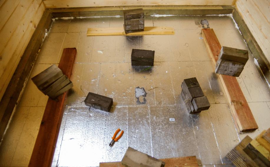 изготовление сауны в доме