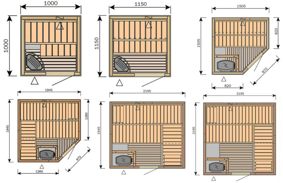 проектирование сауны