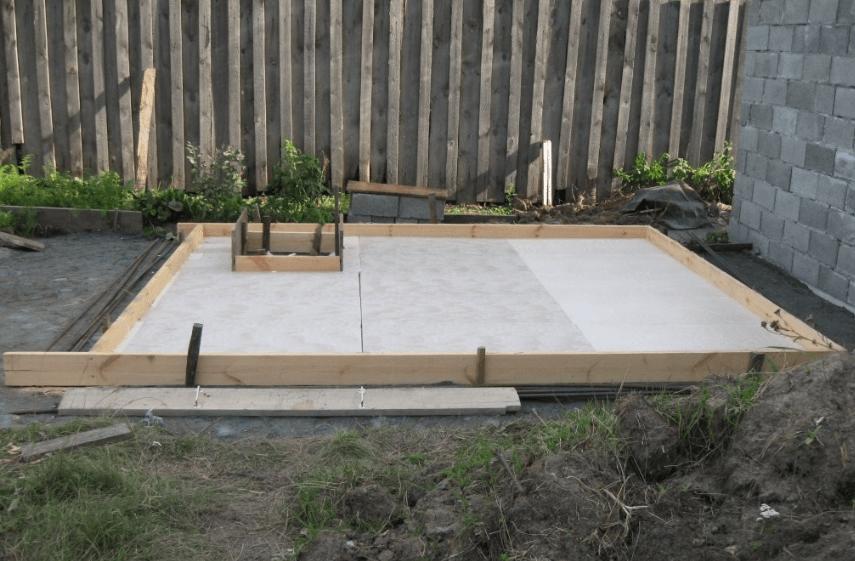 фундамент для сауны на даче