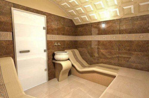 построить турецкую баню в квартире