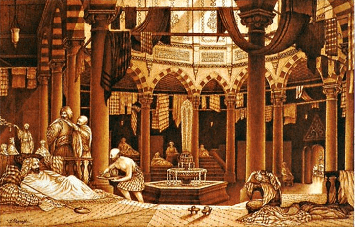 откуда происходит хамам