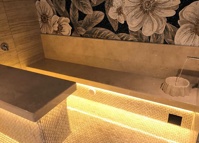 элементы декора в турецкой бане