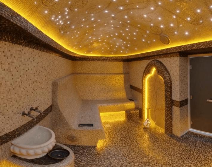 какое освещение купить в хамам