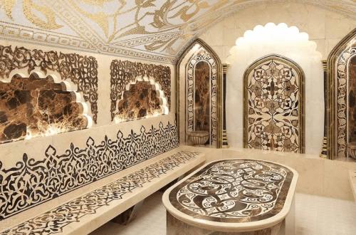 внутренняя отделка турецкой бани под ключ
