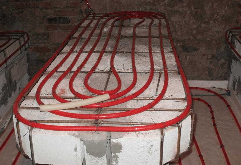 какую систему обогрева стен и лежаков выбрать в хамам