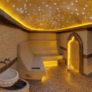 монтаж звездного неба в хамам