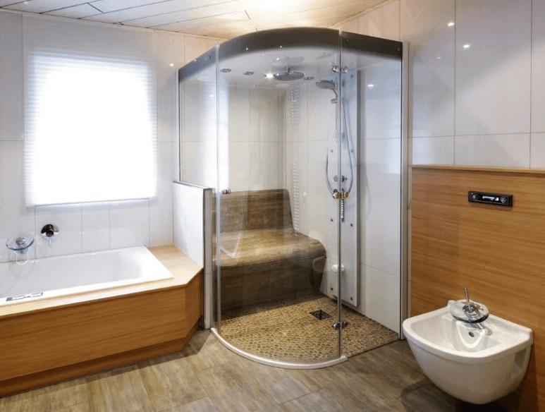 душевая кабина с турецкой баней сколько стоит