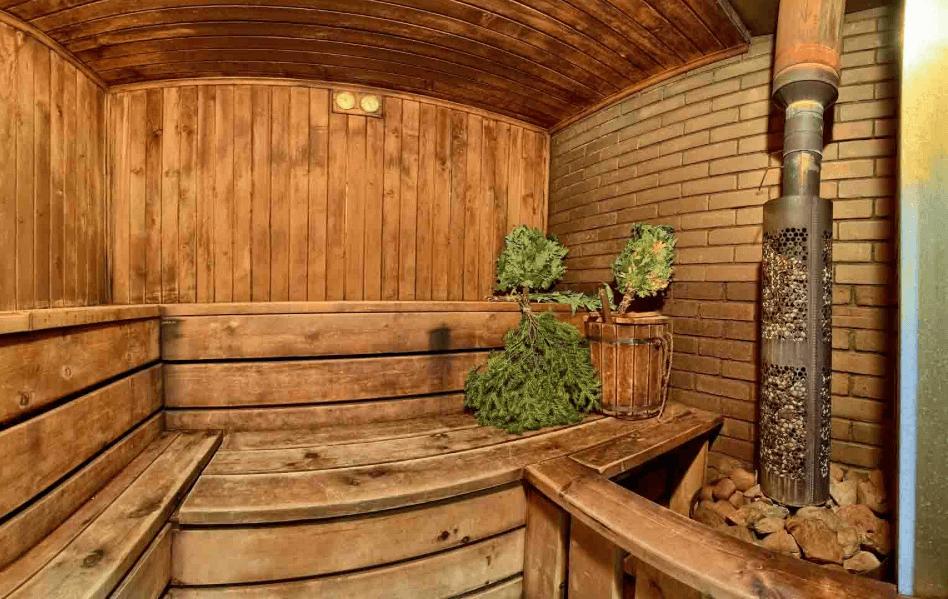 сколько градусов в русской бане